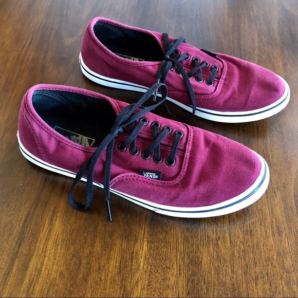 Vans Shoes Sneakers Unisex Womens sz 8 Pink Purple Mens sz 6.5